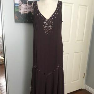 David's bridal brown dress